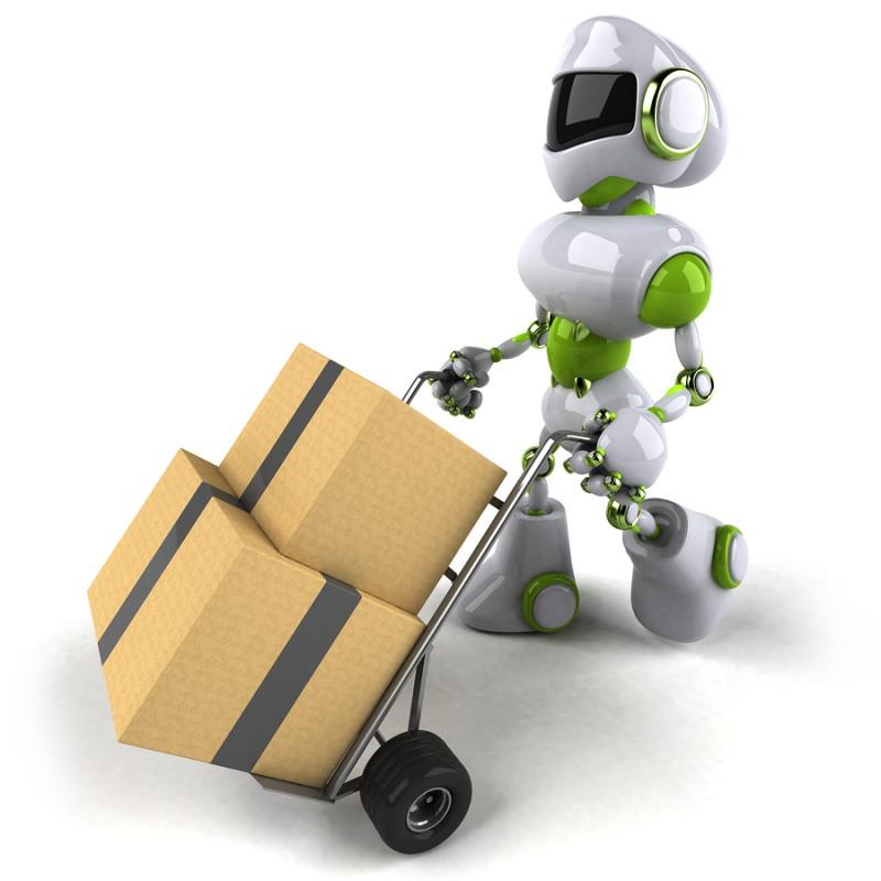Anställ en robot i butiken