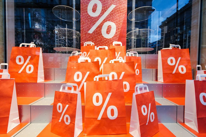 Skyltning i butik