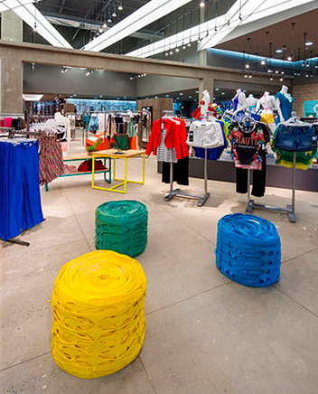Ekologisk butiksdesign ger starka varumärken