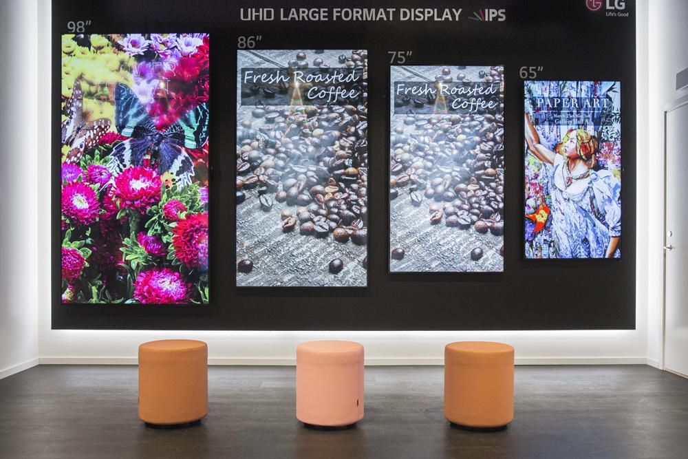 Digitala skyltar ger flexibel information