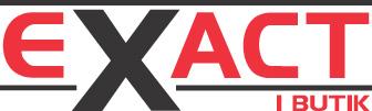 Exact i Butik AB - Logotype