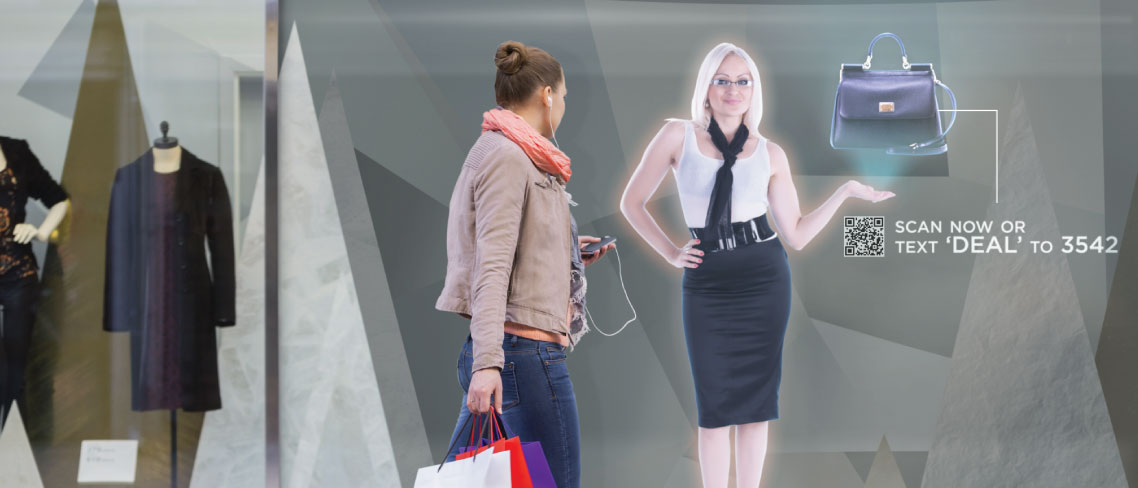 Hologram revolutionerar butiksupplevelsen