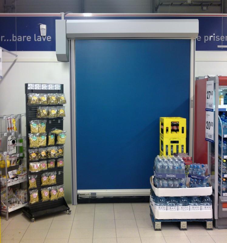 Ny butiksport från NORDIC door